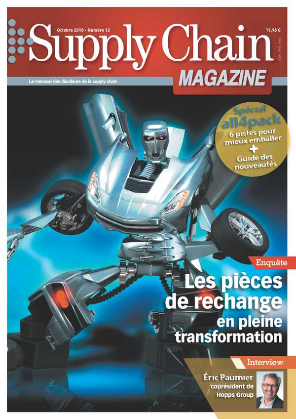 Couverture magazine supply chain magazine n° 12