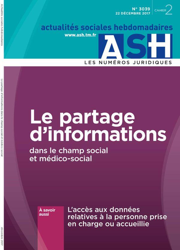 Le partage d'informations dans le champ social et médico-social