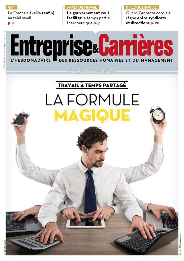 Couverture magazine Entreprise et carrières n° 1406