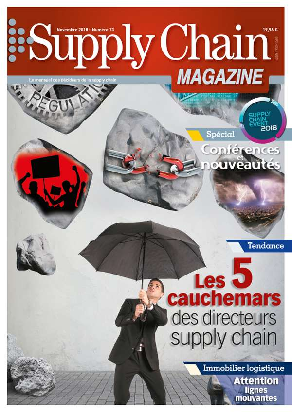 Couverture magazine supply chain magazine n° 13