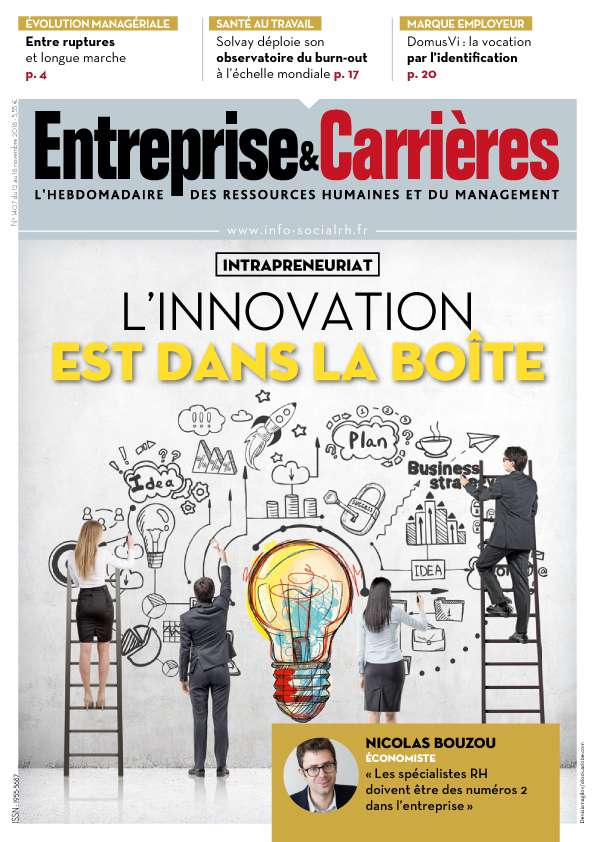 Couverture magazine Entreprise et carrières n° 1407
