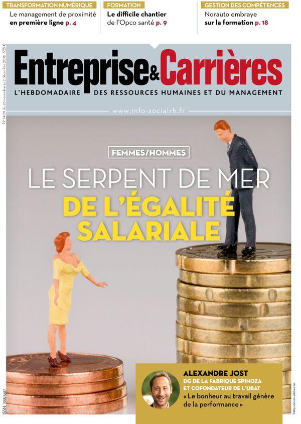 Couverture magazine Entreprise et carrières n° 1409