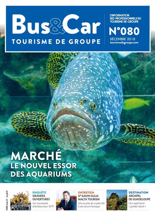 Bus et Car : Tourisme de Groupe n° 80 de décembre 2018