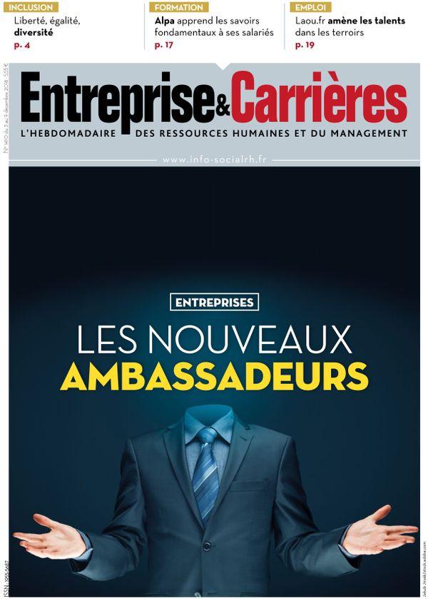 Couverture magazine Entreprise et carrières n° 1410
