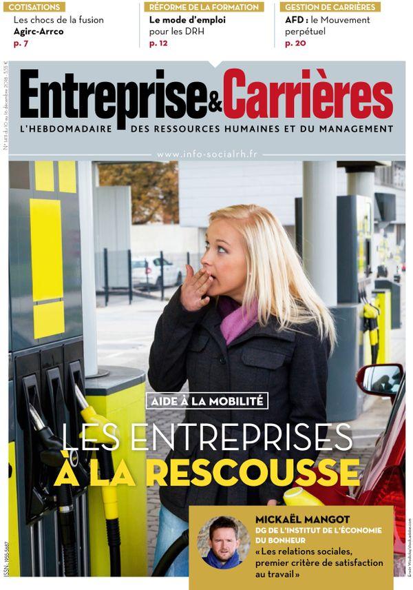 Couverture magazine Entreprise et carrières n° 1411