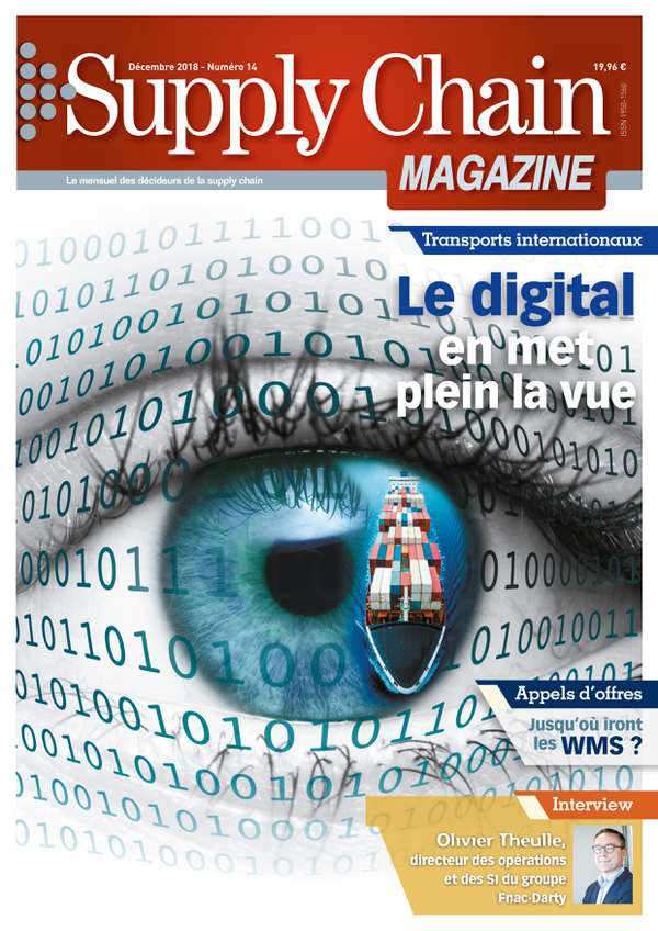 Couverture magazine supply chain magazine n° 14