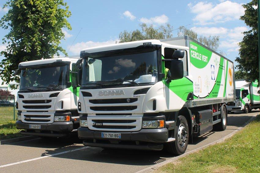 ec219ec444864 La liste des transporteurs investissant dans des camions roulant au gaz  naturel pour véhicules (GNV) continue de s allonger. C est aujourd hui  Prévoté qui ...