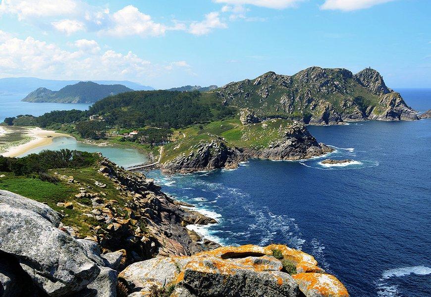The Cies Islands (Ria de Vigo, Galicia)
