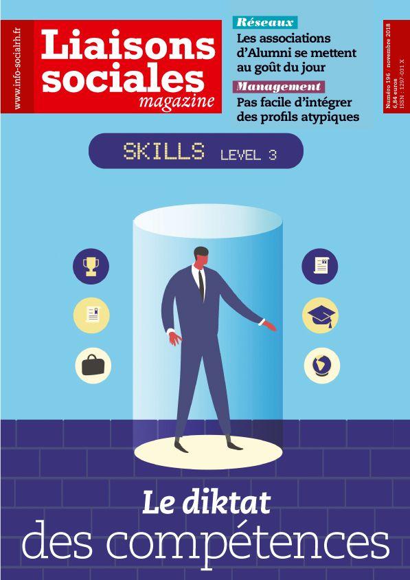Couverture magazine Liaisons sociales magazine n° 196