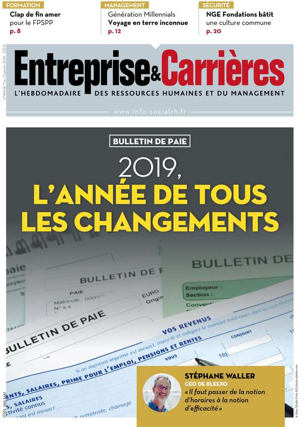Couverture magazine Entreprise et carrières n° 1414