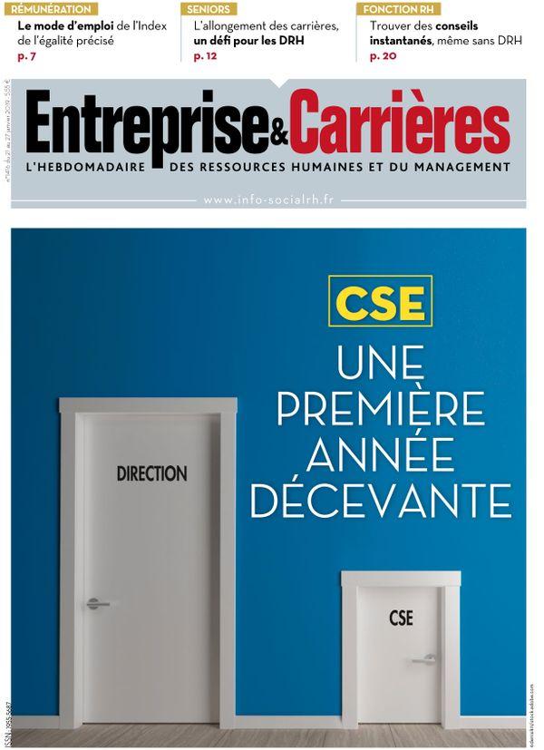 Couverture magazine Entreprise et carrières n° 1416