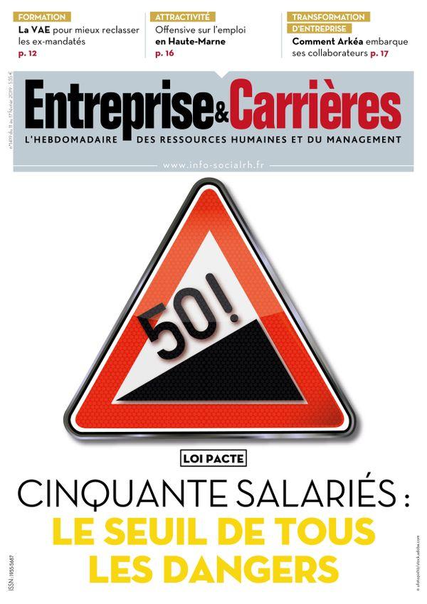 Couverture magazine Entreprise et carrières n° 1419