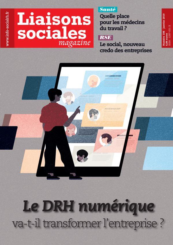 Couverture magazine Liaisons sociales magazine n° 198