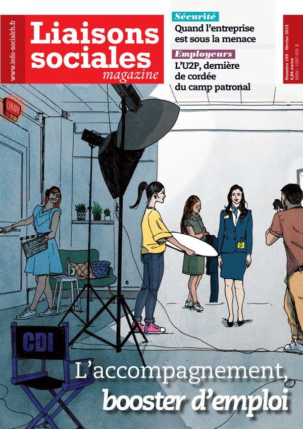 Couverture magazine Liaisons sociales magazine n° 199