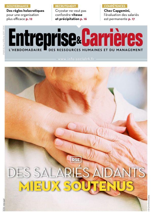Couverture magazine Entreprise et carrières n° 1420