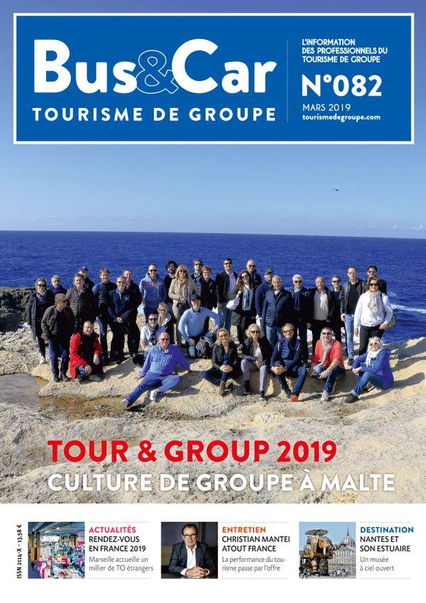 Bus et Car : Tourisme de Groupe n° 82 de mars 2019