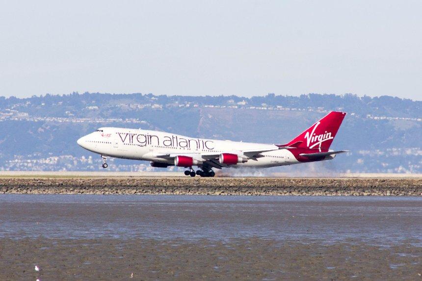 Virgin Atlantic Boeing 747-41R G-VROC