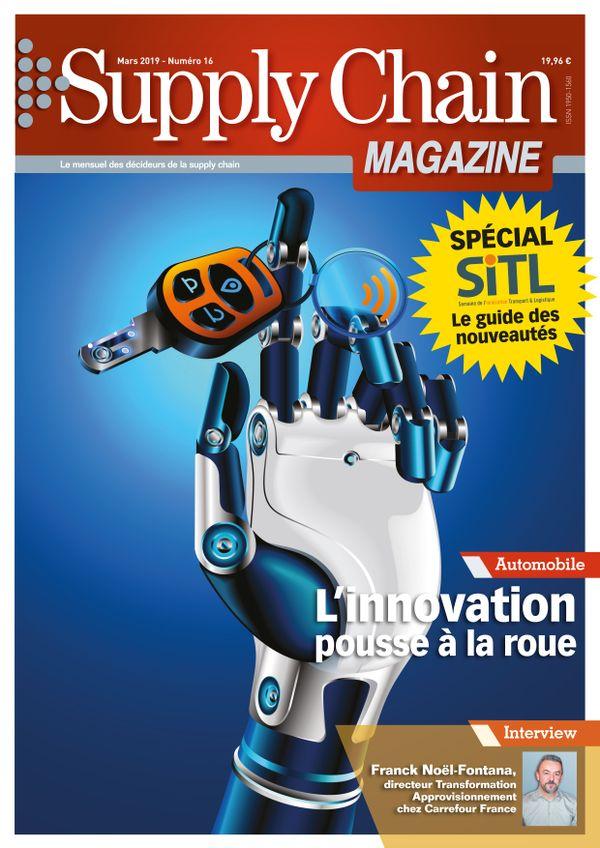 Couverture magazine supply chain magazine n° 16