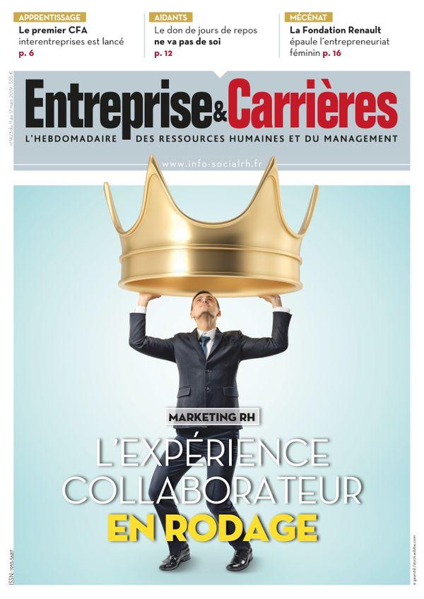 Couverture magazine Entreprise et carrières n° 1423