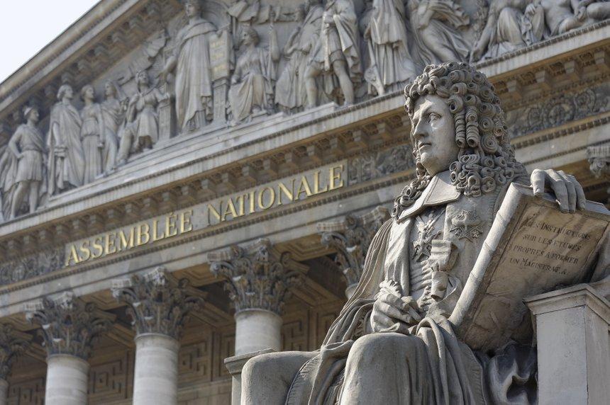 Assemblée nationale française Statue de Henri François d'Aguessau