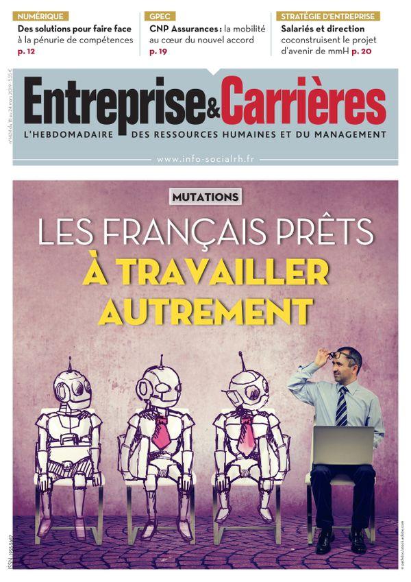 Couverture magazine Entreprise et carrières n° 1424