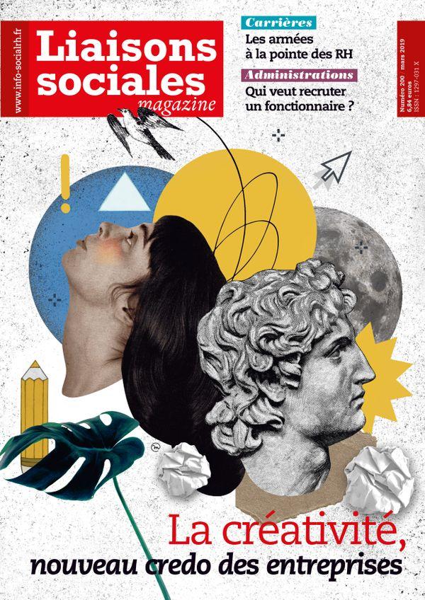 Couverture magazine Liaisons sociales magazine n° 200
