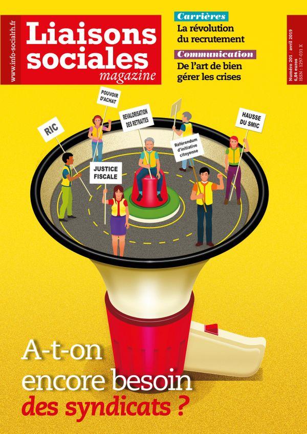 Couverture magazine Liaisons sociales magazine n° 201