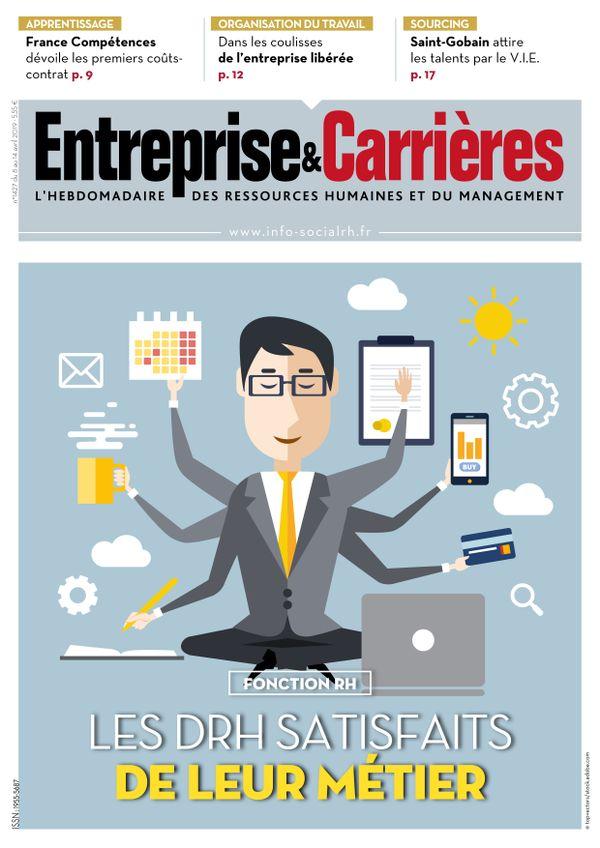 Couverture magazine Entreprise et carrières n° 1427