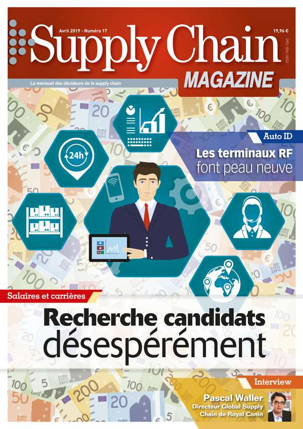 Couverture magazine supply chain magazine n° 17