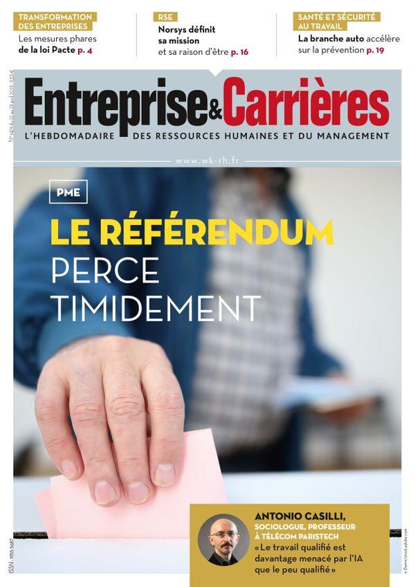 Vignette document Le  référendum en quête de reconnaissance dans les PME
