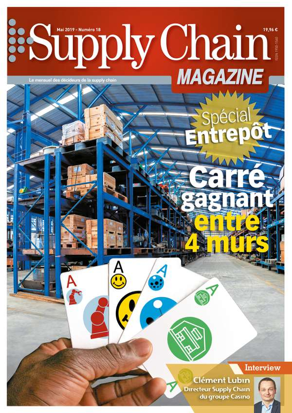 Couverture magazine supply chain magazine n° 18