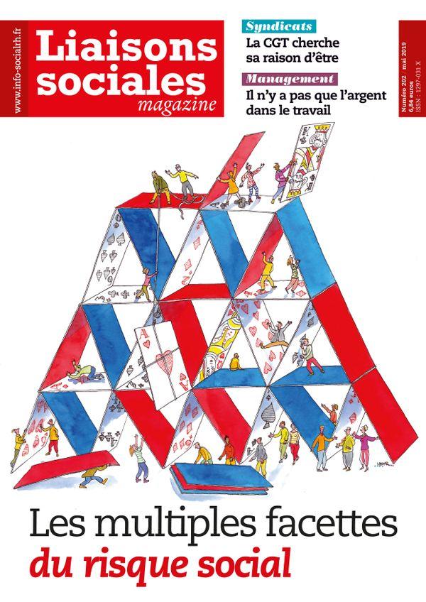 Couverture magazine Liaisons sociales magazine n° 202