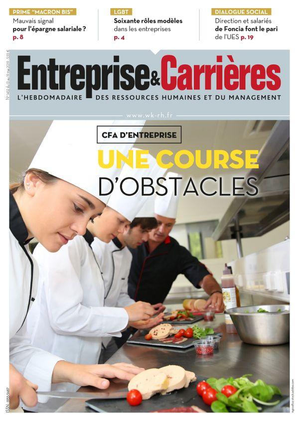 Couverture magazine Entreprise et carrières n° 1432