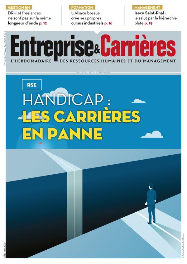 Couverture magazine Entreprise et carrières n° 1434