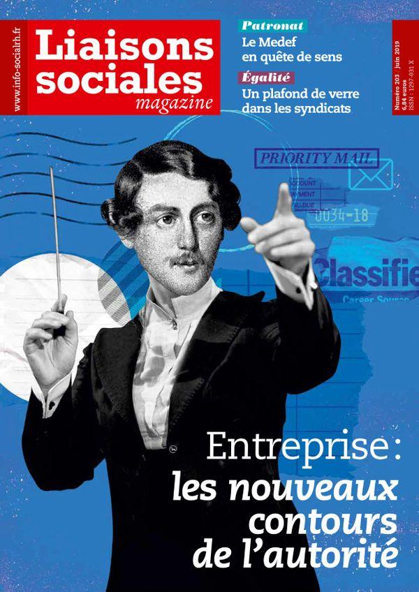Couverture magazine Liaisons sociales magazine n° 203