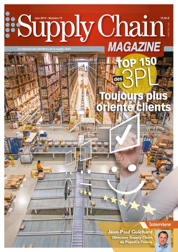 Couverture magazine supply chain magazine n° 19