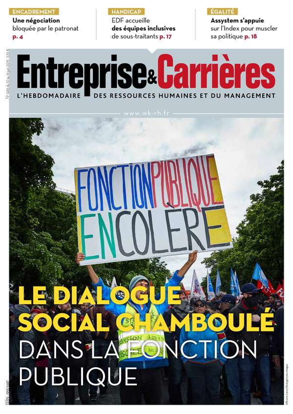 Couverture magazine Entreprise et carrières n° 1436