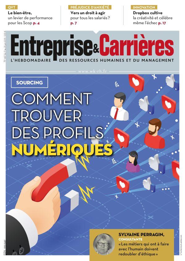 Couverture magazine Entreprise et carrières n° 1437