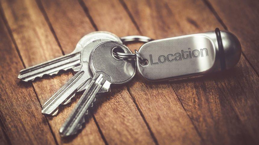 trousseau de clés :  location