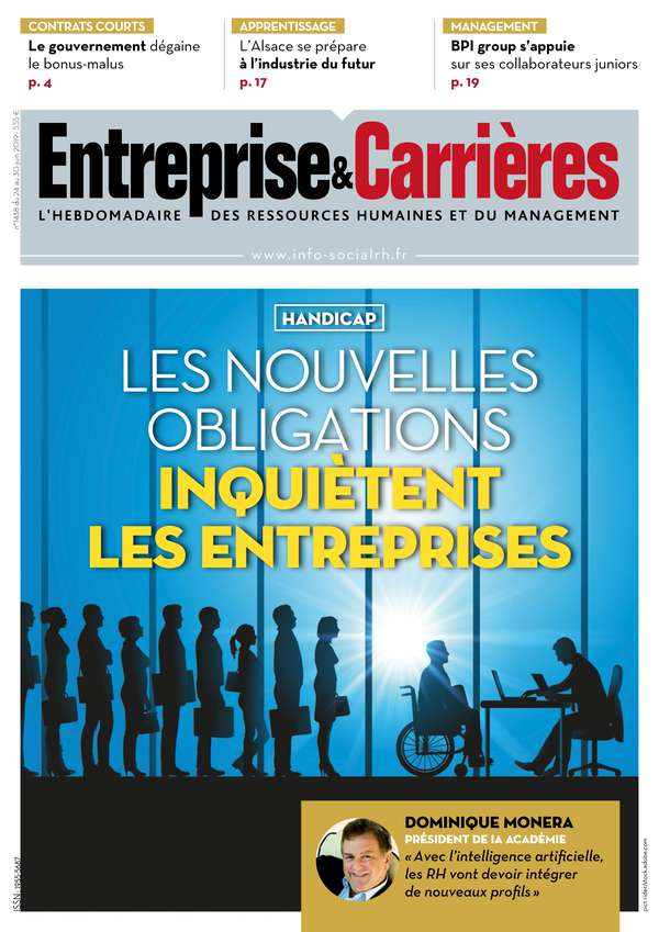 Couverture magazine Entreprise et carrières n° 1438