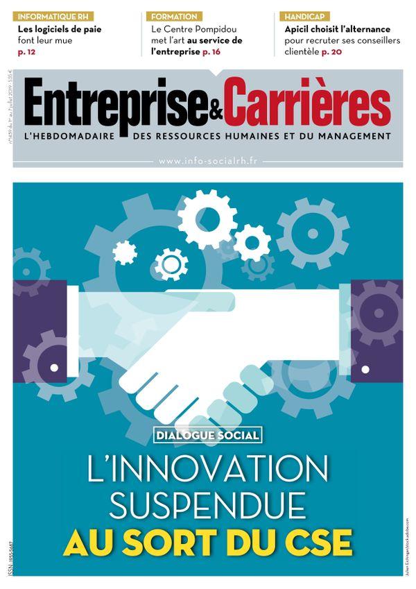 Couverture magazine Entreprise et carrières n° 1439
