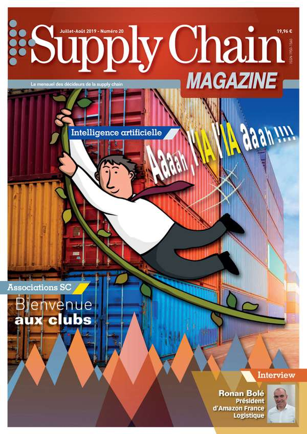 Couverture magazine supply chain magazine n° 20