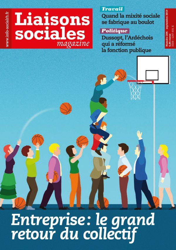 Couverture magazine Liaisons sociales magazine n° 204