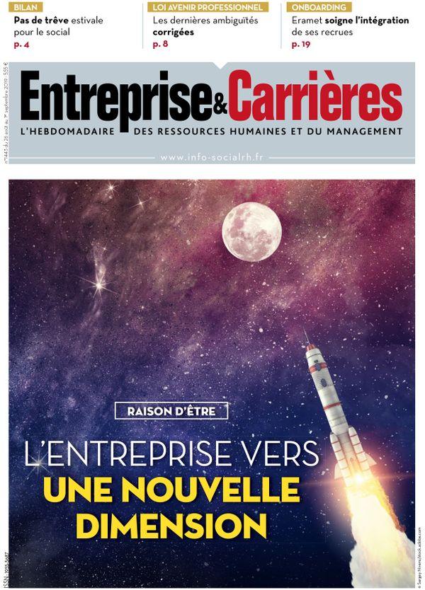 Couverture magazine Entreprise et carrières n° 1443