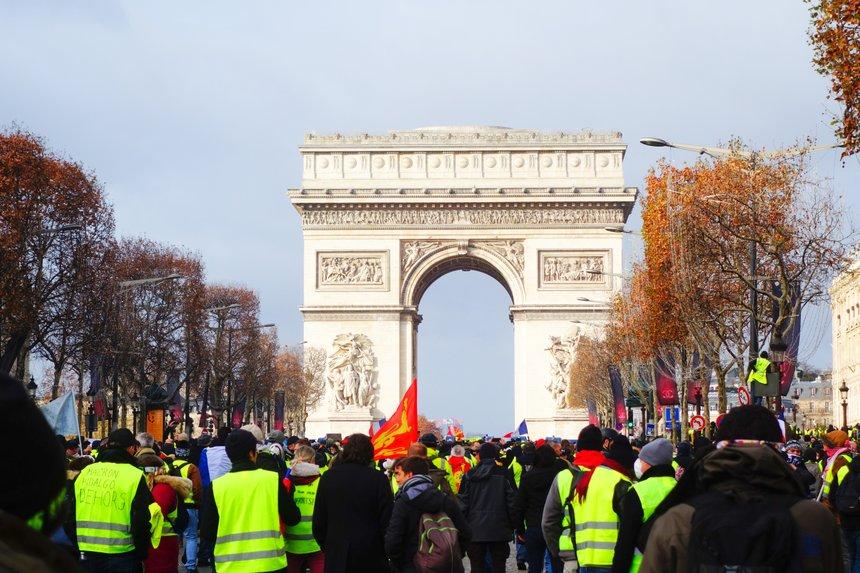 Gilets jaunes, Paris, 08/12/2018