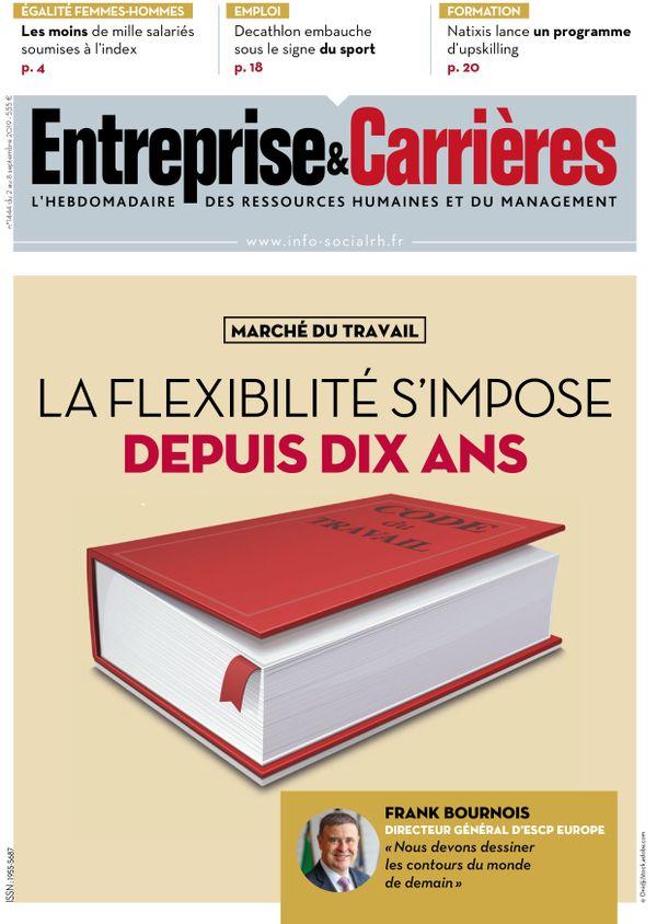 Couverture magazine Entreprise et carrières n° 1444