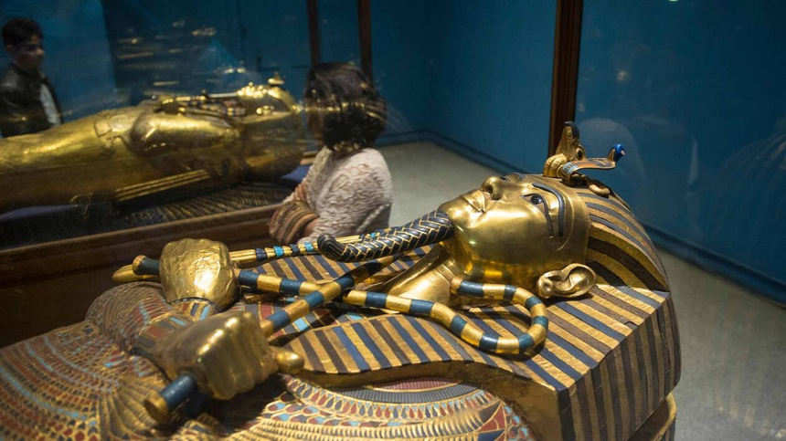 FILES-FRANCE-EGYPT-MUSEUM-HISTORY-TUTANKHAMUN