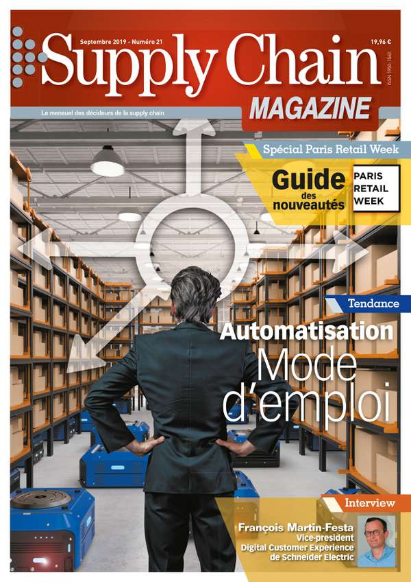 Couverture magazine supply chain magazine n° 21