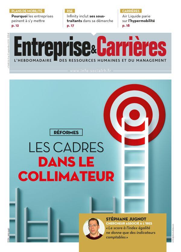 Couverture magazine Entreprise et carrières n° 1445