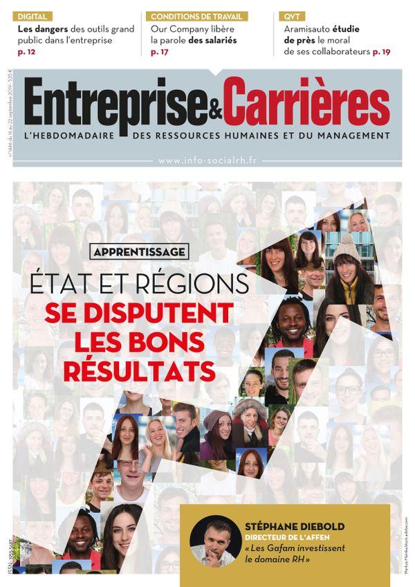 Couverture magazine Entreprise et carrières n° 1446